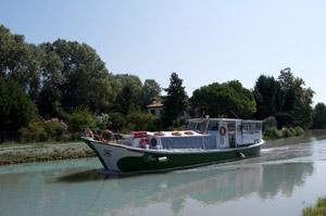 Burchio - navigazione Padova